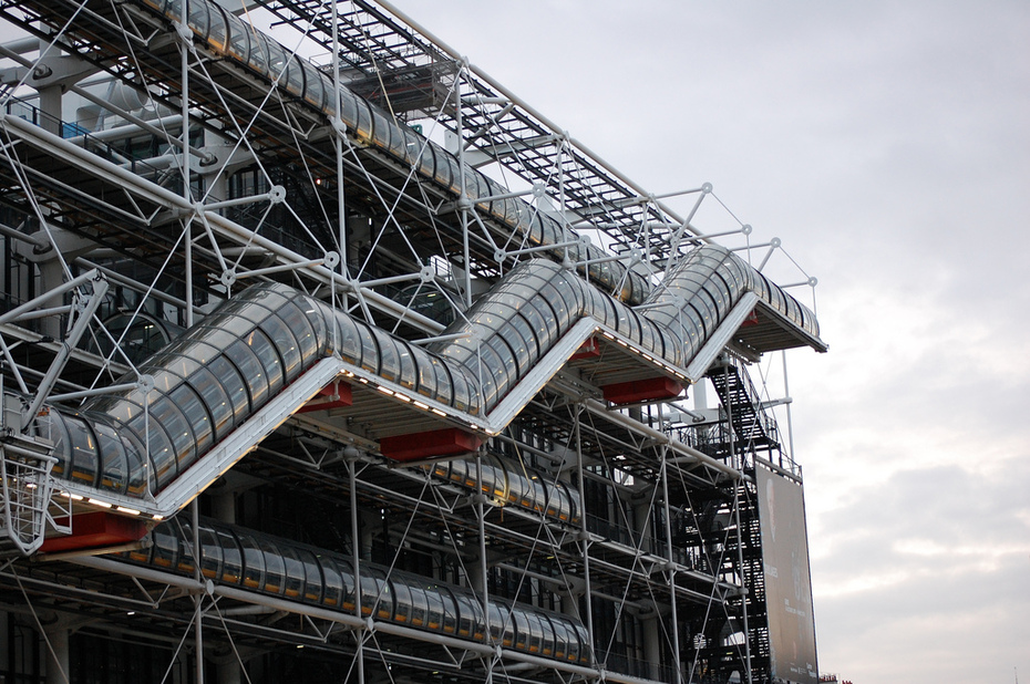 Das Centre Pompidou in Paris
