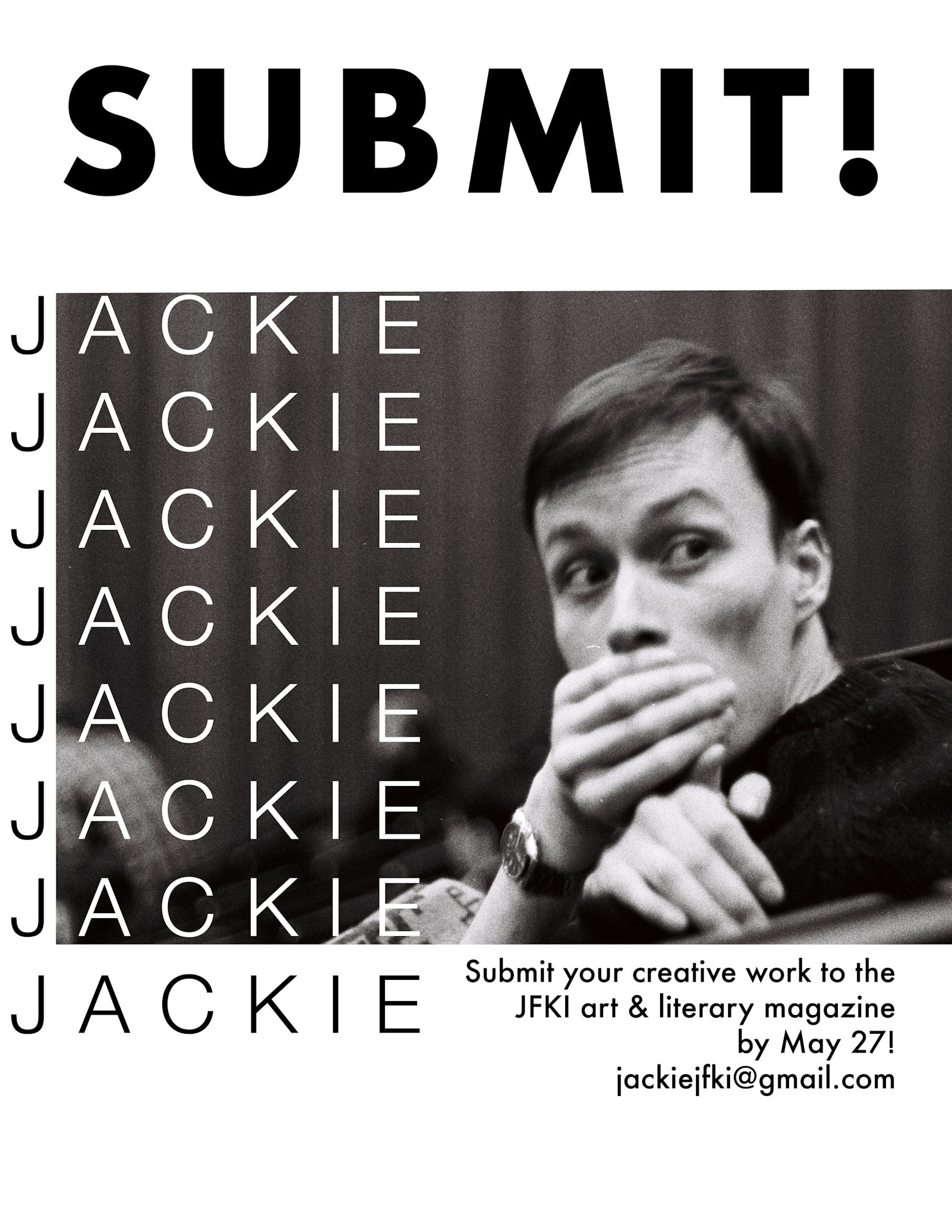"Jackie Ad ""Submit"""