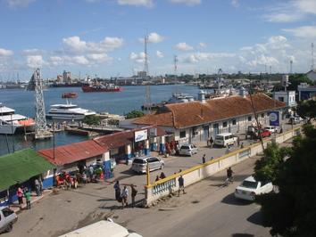 Hafengelände in dar es salaam tansaniaquelle hansjörg dilger