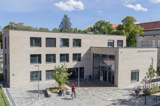 Student Services Center at Freie Universität Berlin Source: Volker Möller